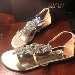 Badgley Mischka Barstow women's flat sandal
